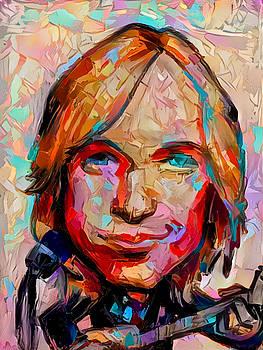 Tom Petty by Paul Van Scott