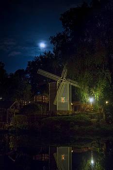 Tom Sawyer Island Windmill by Mark Andrew Thomas