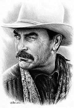 Tom Selleck by Andrew Read