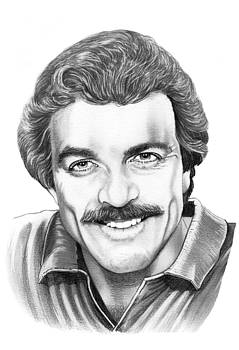 Tom Selleck by Murphy Elliott