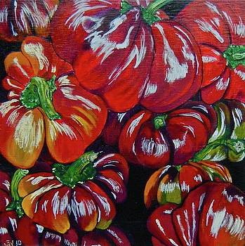 Tomatoes by Jenny Snodgrass