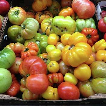 #tomatoes #tomato #farmstand #veggies by Patricia And Craig