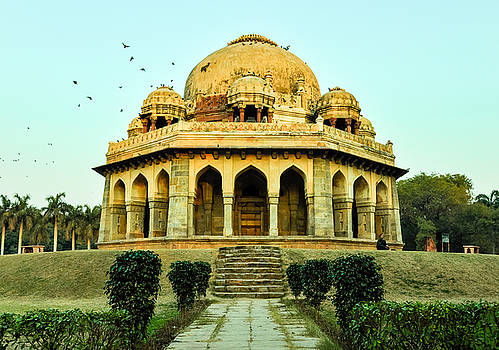 Tomb of Mohammed Shah, Lodhi Gardens, New-Delhi by Freepassenger By Ozzy CG