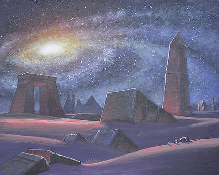 Tombs of the Ancients by Armand Cabrera