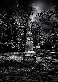 Tombstone Shadow No 2 by Brian Carson