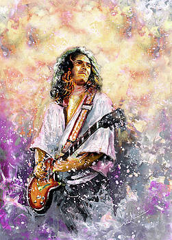 Tommy Bolin by Miki De Goodaboom