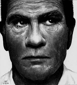 Tommy Lee Jones by Rick Fortson
