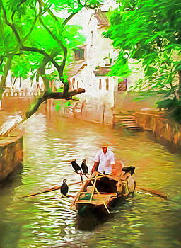 Dennis Cox ChinaStock - Tongli Boatman