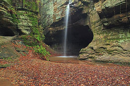 Tonty Canyon Waterfall 1 by Greg Matchick