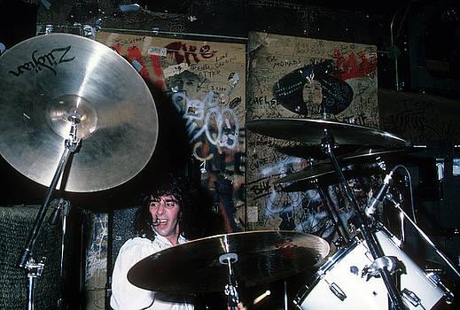 Tony Destra at CBGB by Rich Fuscia