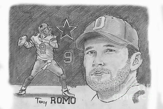 Tony Romo by Chris  DelVecchio