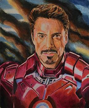 Tony Stark by Dwain