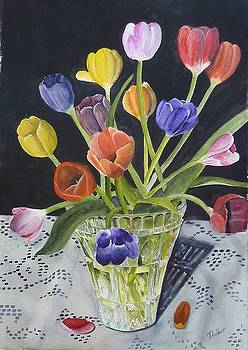 Too Many Tulips by Dwight Williams