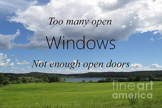 Too Many Windows by Martin Howard