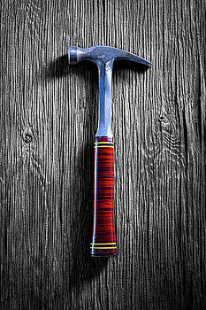 Tools On Wood 42 on BW by YoPedro