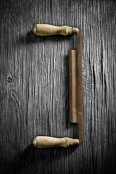 Tools On Wood 43 on BW by YoPedro