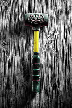 Tools On Wood 44 on BW by YoPedro