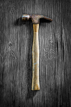 Tools On Wood 49 on BW by YoPedro