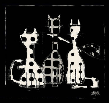Toon Cats by Arline Wagner