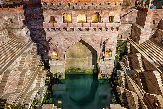 Toor Ji Step Well by Nila Newsom