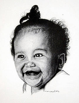 Toothless Baby Smiles by Opoku Acheampong