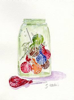 Tootsie Pop Jar by Sheryl Heatherly Hawkins