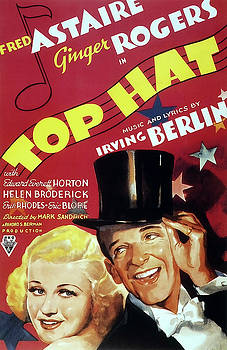 Daniel Hagerman - TOP HAT MOVIE LOBBY PROMOTION - FRED and GINGER  1935