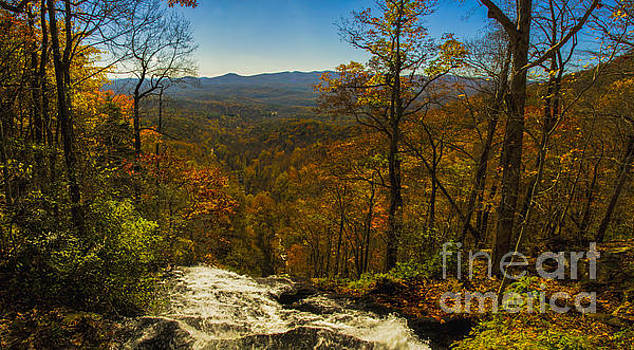 Barbara Bowen - Top of Amicola Falls