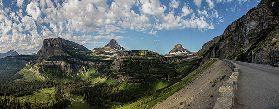 Top of Going to the Sun Road 1 by John McGraw