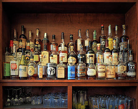 Top Shelf Whiskey Selection by Bill Swartwout