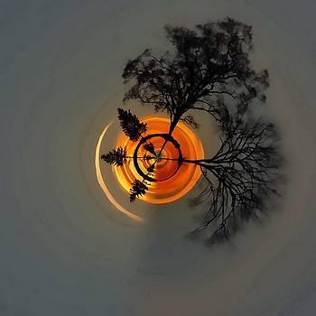 Topsy Turvy World - Sunset by Andrea Kollo