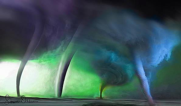 Steve Ohlsen - Tornado Storm 1 - Collage - Signed Limited Edition