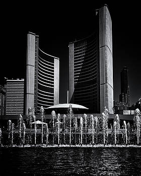 Toronto City Hall No 25 by Brian Carson