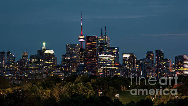 Toronto cityscape by Audrey Wilkie