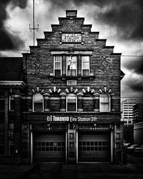 Toronto Fire Station No 311 by Brian Carson
