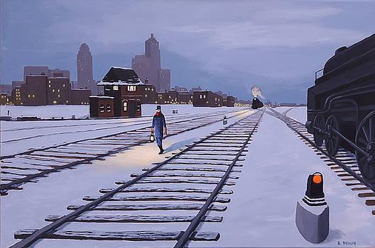 Toronto Rail Lands by Dave Rheaume