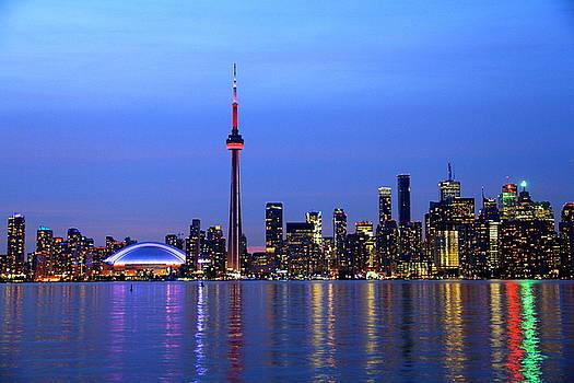 Toronto Skyline by Philip Neelamegam