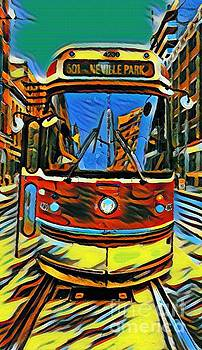 John Malone - Toronto Street Car Abstract