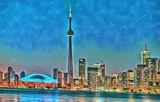 Toronto Waterfront Panorama by Maciek Froncisz