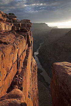Toroweap Overlook at Daybreak by Mike Buchheit