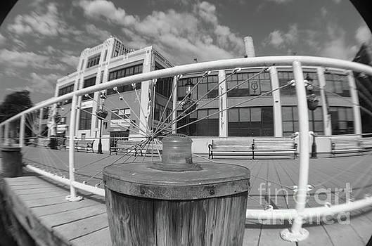 Torpedo Factory Art Center In Black and White by John S