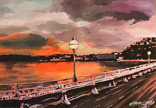 Princess Pier, Torquay by Emma Childs