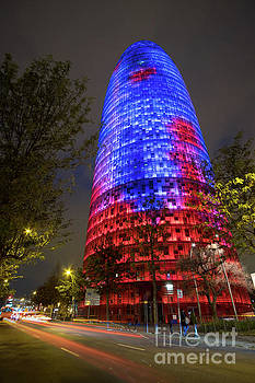 Torre Agbar by Martin Williams