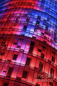 Torre Agbar Tower. Barcelona by Martin Williams
