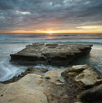 Torrey Pines Afternoon Clouds by William Dunigan