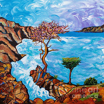 Torrey Pines by Art by Danielle