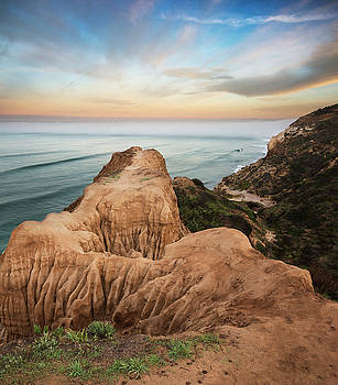 Torrey Pines Cliff and Valley by William Dunigan