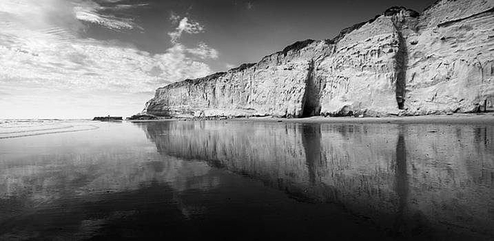 Torrey Pines Cliffs and Clouds by William Dunigan