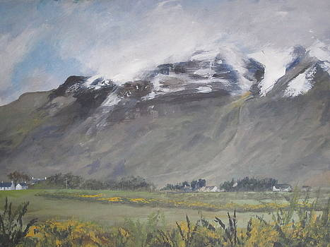 Torridon Mountain by Cindie Reiter