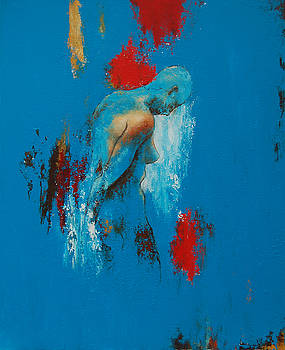 Torso in blue by Jos Van de Venne